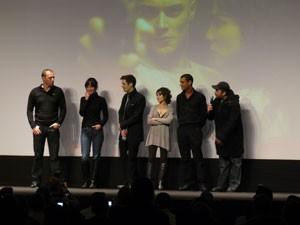 L'équipe du film Frontière