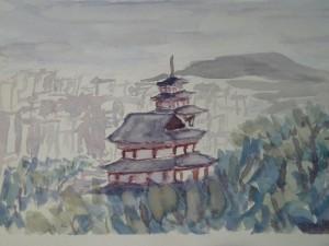 Peinture Vue Séoul