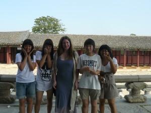 Moi et les coréennes