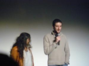 Les deux réalisateurs de Amer : Hélène Cattet & Bruno Forzani