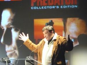John McTiernan lors de l'hommage