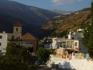 Village des Alpujaras, Espagne